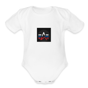 The Alpha Merch - Short Sleeve Baby Bodysuit