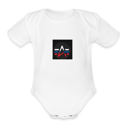The Alpha Merch - Organic Short Sleeve Baby Bodysuit