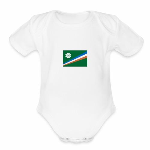RMI Clothing - Organic Short Sleeve Baby Bodysuit