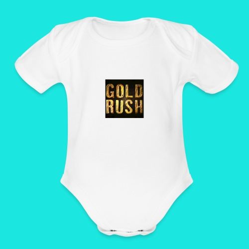 GOLDRUSH215 - Organic Short Sleeve Baby Bodysuit
