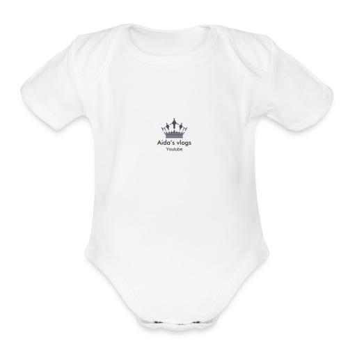 4FDBDDF1 93DD 4A4D 87D7 78FD2F50BF64 - Organic Short Sleeve Baby Bodysuit