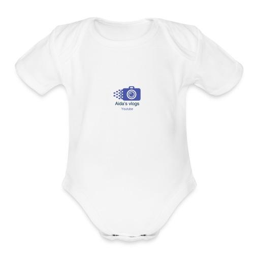 CEF83671 05F0 4DAF 8D0D 48E7028E7ED1 - Organic Short Sleeve Baby Bodysuit