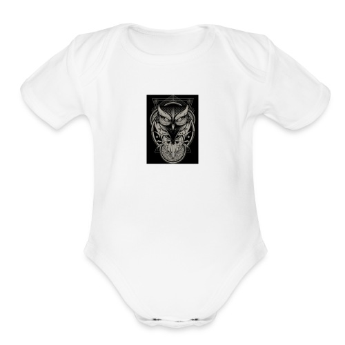 redhouse - Organic Short Sleeve Baby Bodysuit