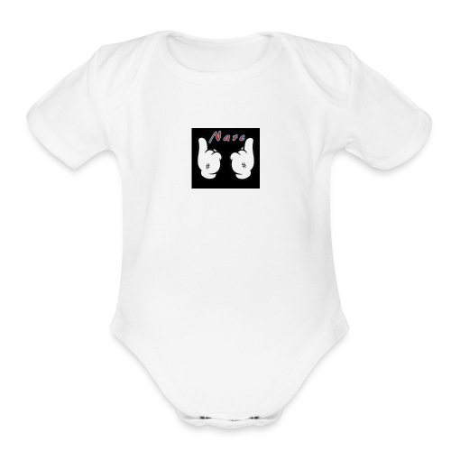 Narc - Organic Short Sleeve Baby Bodysuit