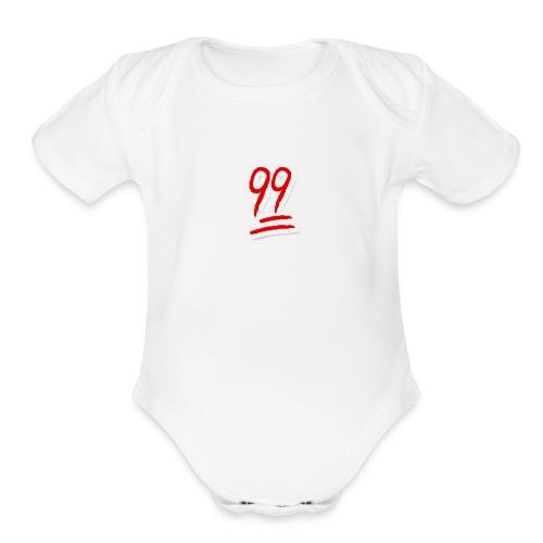 99 - Organic Short Sleeve Baby Bodysuit