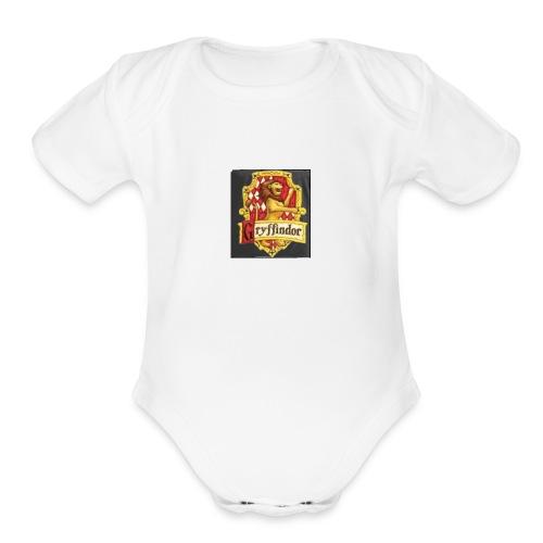 HP - Organic Short Sleeve Baby Bodysuit