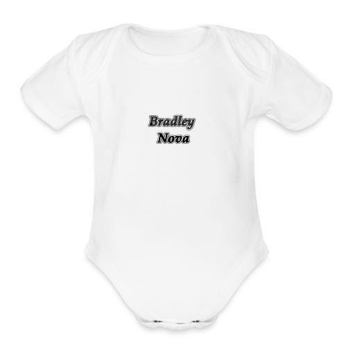 IMG 0049 - Organic Short Sleeve Baby Bodysuit