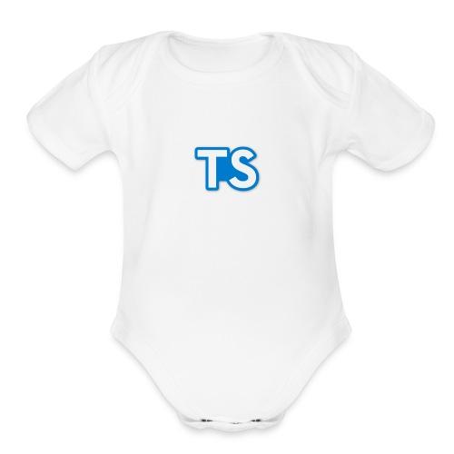 Tech Speech - Organic Short Sleeve Baby Bodysuit