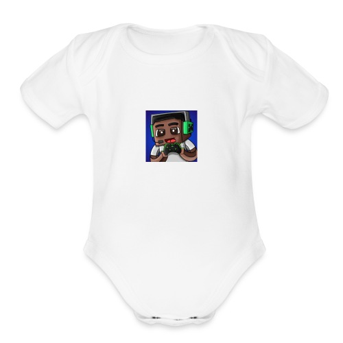 IM A GAMER - Organic Short Sleeve Baby Bodysuit