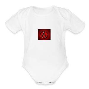 Atheist A jpgweb - Short Sleeve Baby Bodysuit