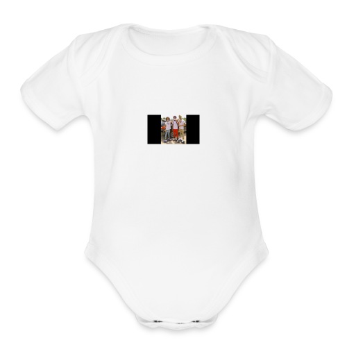 ayo & teo merch - Organic Short Sleeve Baby Bodysuit
