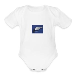 s w - Short Sleeve Baby Bodysuit