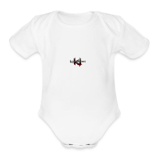 killer instinct - Organic Short Sleeve Baby Bodysuit