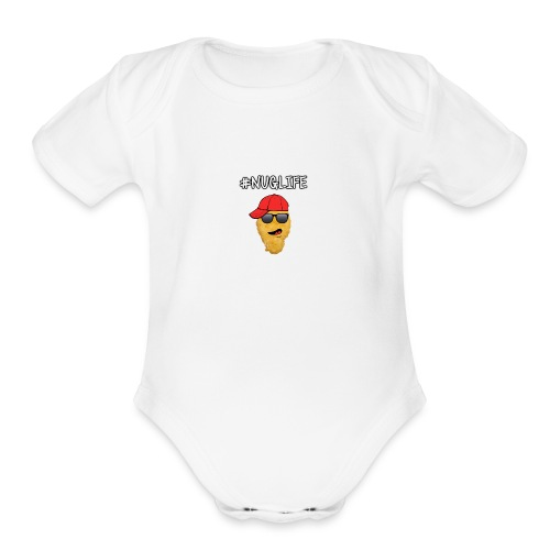 #NugLife Phone Case - Organic Short Sleeve Baby Bodysuit