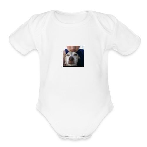 cody dyer merch - Organic Short Sleeve Baby Bodysuit