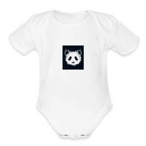 Pandagirlstuff - Short Sleeve Baby Bodysuit