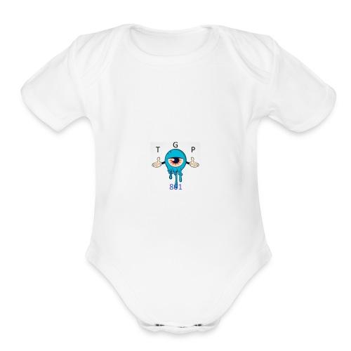 TGP801 - Organic Short Sleeve Baby Bodysuit