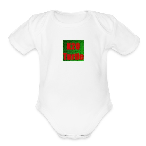 K2O Turtle - Organic Short Sleeve Baby Bodysuit