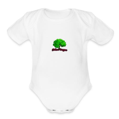 Moringa Games Mug - Organic Short Sleeve Baby Bodysuit