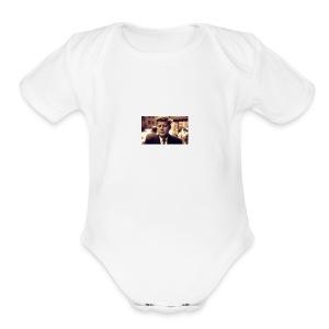 john - Short Sleeve Baby Bodysuit