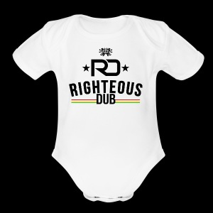Righteous Dub Logo - Short Sleeve Baby Bodysuit