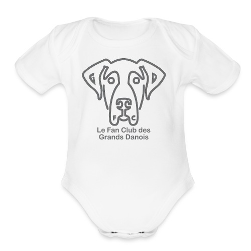 Fan Club - Organic Short Sleeve Baby Bodysuit