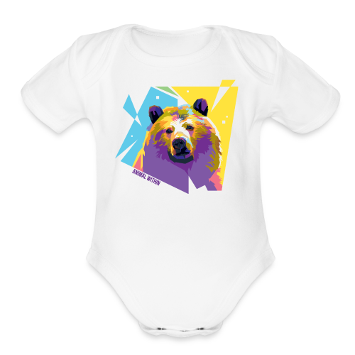 Bear Within - Organic Short Sleeve Baby Bodysuit