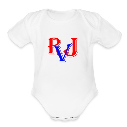RJ Everett Vlogs - Organic Short Sleeve Baby Bodysuit