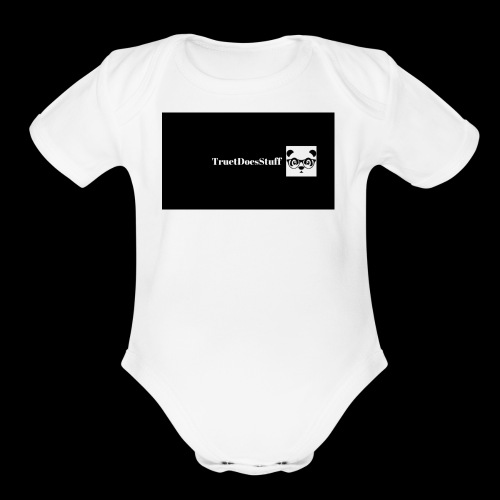 Panda Army Merchindise - Organic Short Sleeve Baby Bodysuit