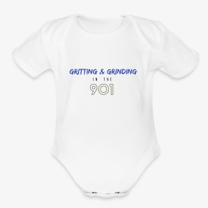 Gritting & Grinding in the 901 - Short Sleeve Baby Bodysuit