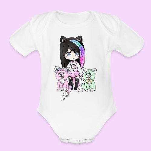 Lolipup Family! - Organic Short Sleeve Baby Bodysuit
