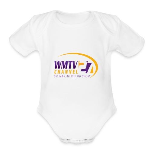 WMTV Merchandise - Organic Short Sleeve Baby Bodysuit