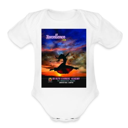 excellence - Organic Short Sleeve Baby Bodysuit