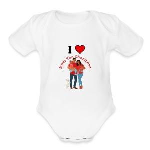 I Love MTC - Short Sleeve Baby Bodysuit