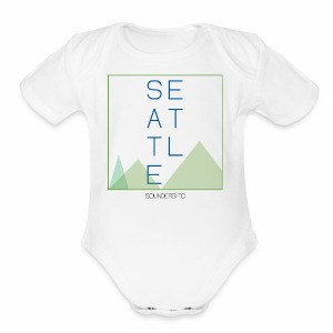 Seattle - Short Sleeve Baby Bodysuit