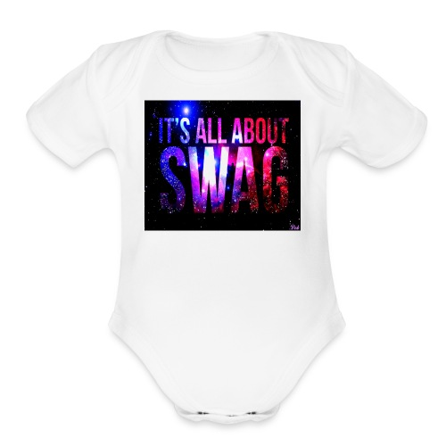 swags - Organic Short Sleeve Baby Bodysuit