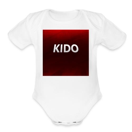 KidoShirts - Organic Short Sleeve Baby Bodysuit
