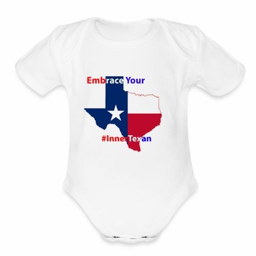 Inner Texan - Organic Short Sleeve Baby Bodysuit