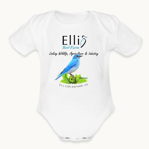 Ellis Bird Farm - Carolyn Sandstrom - Organic Short Sleeve Baby Bodysuit