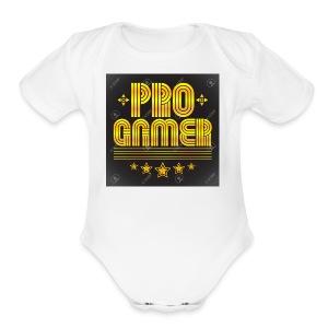 progamer 17 - Short Sleeve Baby Bodysuit