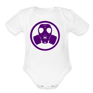 Sliq Killa Logo - Short Sleeve Baby Bodysuit