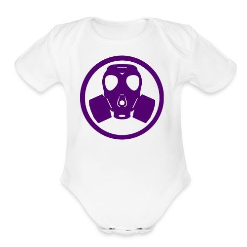 Sliq Killa Logo - Organic Short Sleeve Baby Bodysuit