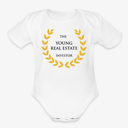 The Young Real Estate Investor - Organic Short Sleeve Baby Bodysuit