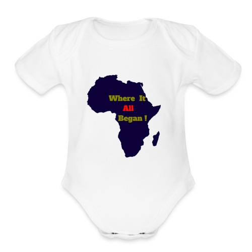 WHERE IT ALL BEGAN ! - Organic Short Sleeve Baby Bodysuit