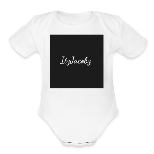 ItzJacobz Tank Top - Organic Short Sleeve Baby Bodysuit