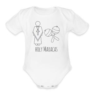 Holy Maracas - Short Sleeve Baby Bodysuit