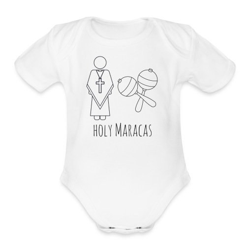Holy Maracas - Organic Short Sleeve Baby Bodysuit