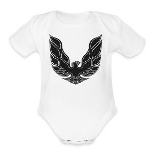 trans am logo - Short Sleeve Baby Bodysuit
