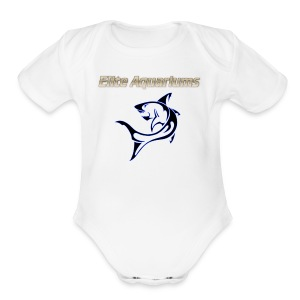 Elite Aquariums Shark - Short Sleeve Baby Bodysuit