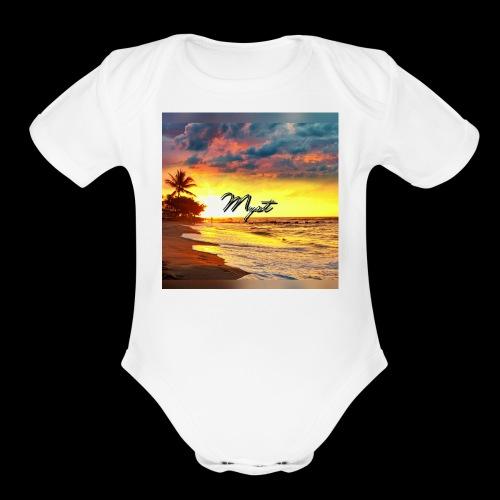 IMG 0747 - Organic Short Sleeve Baby Bodysuit